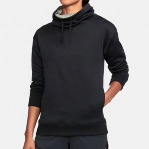 Under Armour Cowl Funnel Neck Quilted Hoodie XL